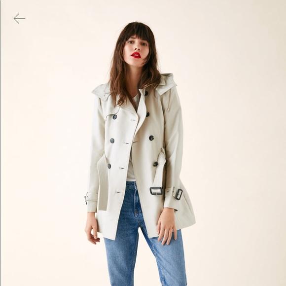 0a1db620 Zara Jackets & Coats   Tailored Water Resistant Trench Coat   Poshmark